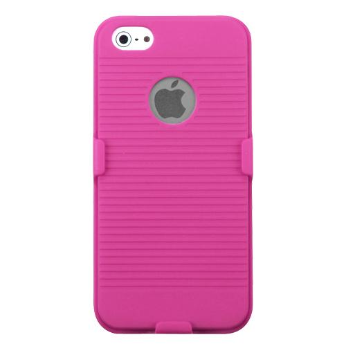 iphone 5s getting hot apple iphone 5 5s rubberized pink hybrid holster 14803
