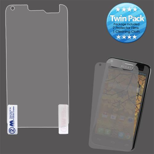 Alcatel One Touch Fierce Screen Protector Twin Pack