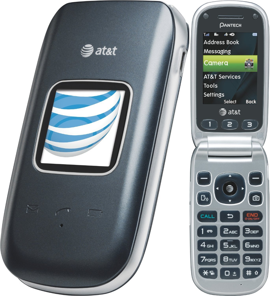 pantech breeze iii p2030 flip phone unlocked gsm gray fair condition used cell phones. Black Bedroom Furniture Sets. Home Design Ideas