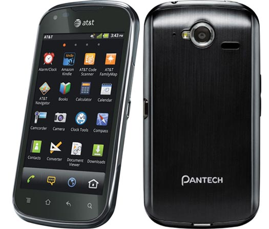 Pantech Burst WiFi 4G LTE Android PDA Phone Unlocked