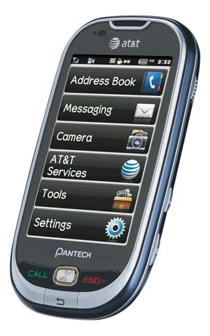 Pantech Ease P2020 QWERTY Slider Phone - Unlocked GSM ...
