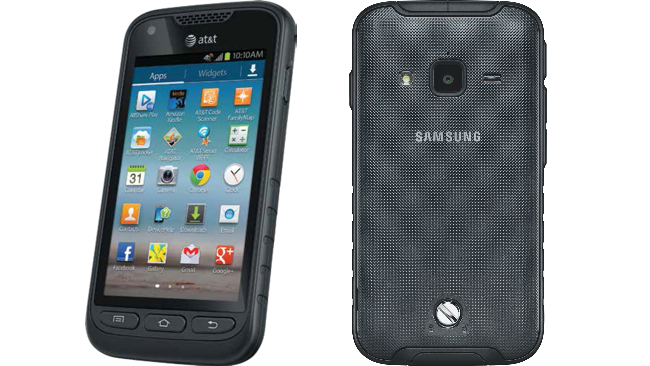 Samsung Galaxy Rugby Pro 8gb Rugged Android Pda Phone