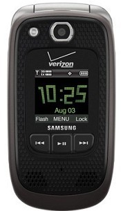 Samsung Convoy 2 Bluetooth PTT GPS Rugged Phone Verizon