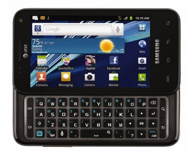 Samsung Captivate Glide High-End Android Phone ATT