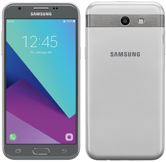 Samsung Galaxy J3 Emerge Android Smartphone for Sprint - Silver