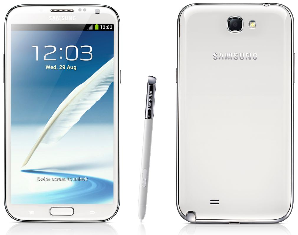 Samsung Galaxy Note 2 N7105 White Android Phone Unlocked ...