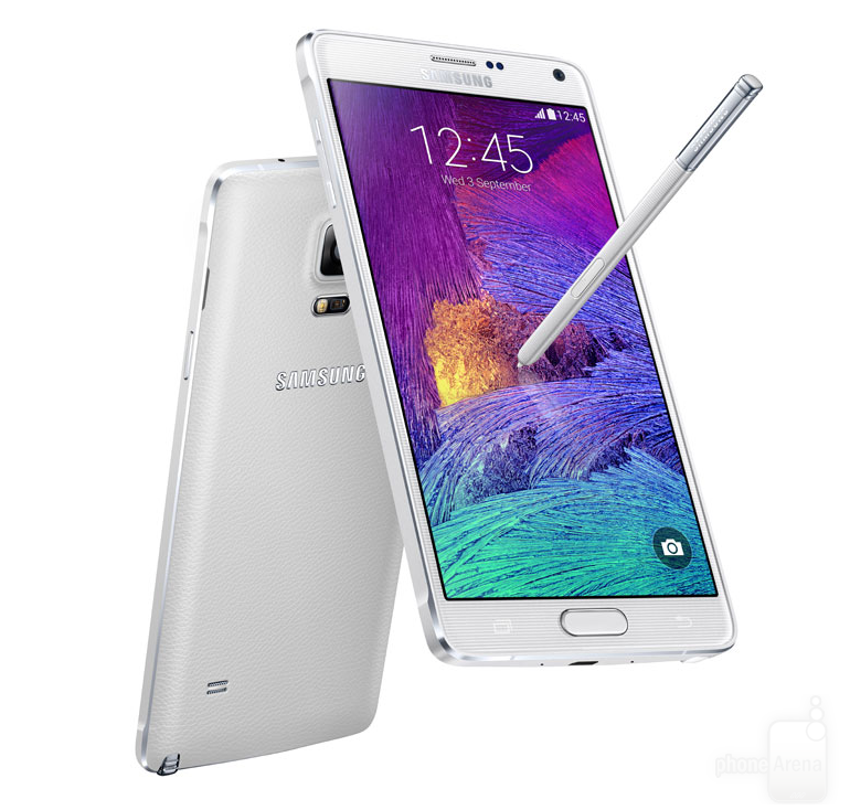 Samsung Galaxy Note 4 N910 32GB 4G Android Phone in White for AT&T