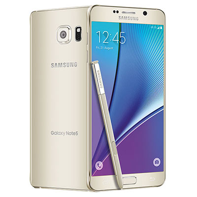 Samsung Galaxy Note 5 N920P 64GB Android Smartphone for Sprint PCS - Gold Platinum