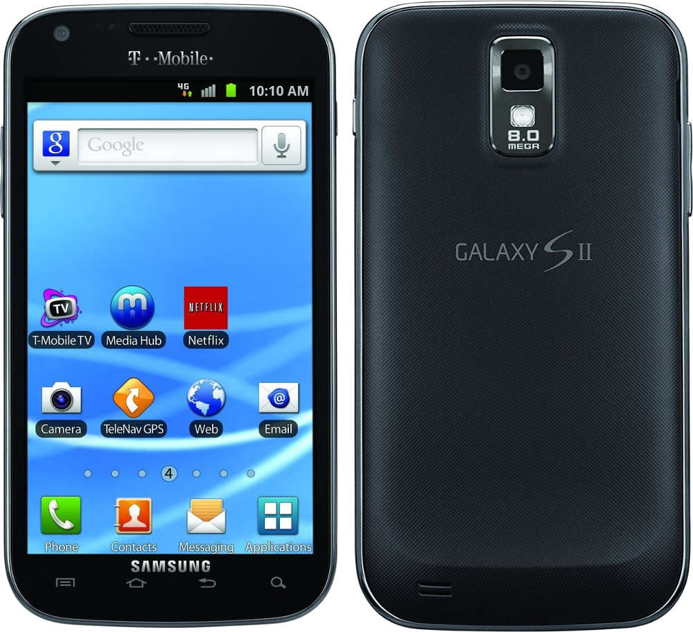 samsung galaxy s2 16gb sgh t989 android smartphone t. Black Bedroom Furniture Sets. Home Design Ideas