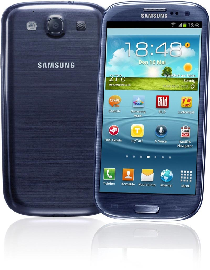 Samsung Galaxy S3 4G Android Smart Phone ATT  Good Condition : Used