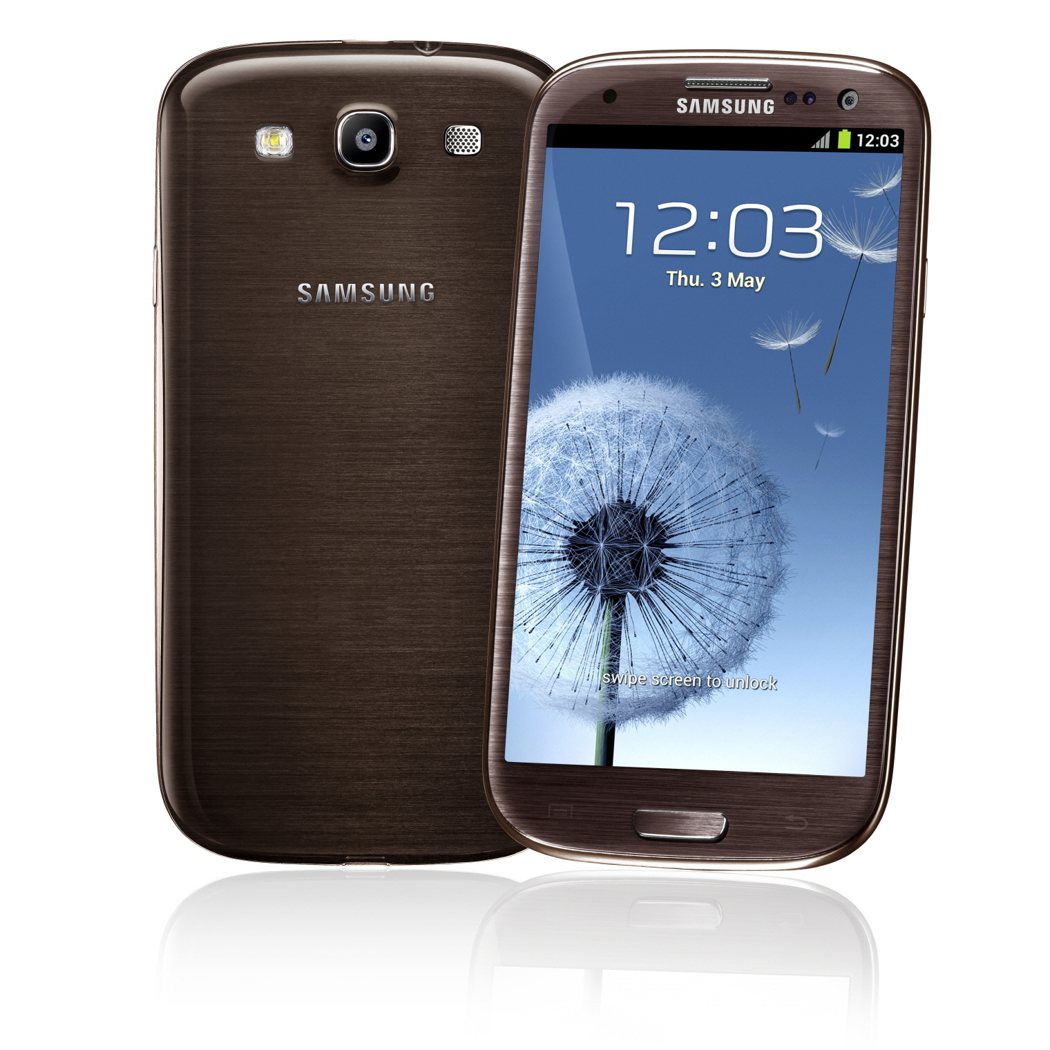 Samsung galaxy s3 brown 16gb android 4g lte phone verizon excellent