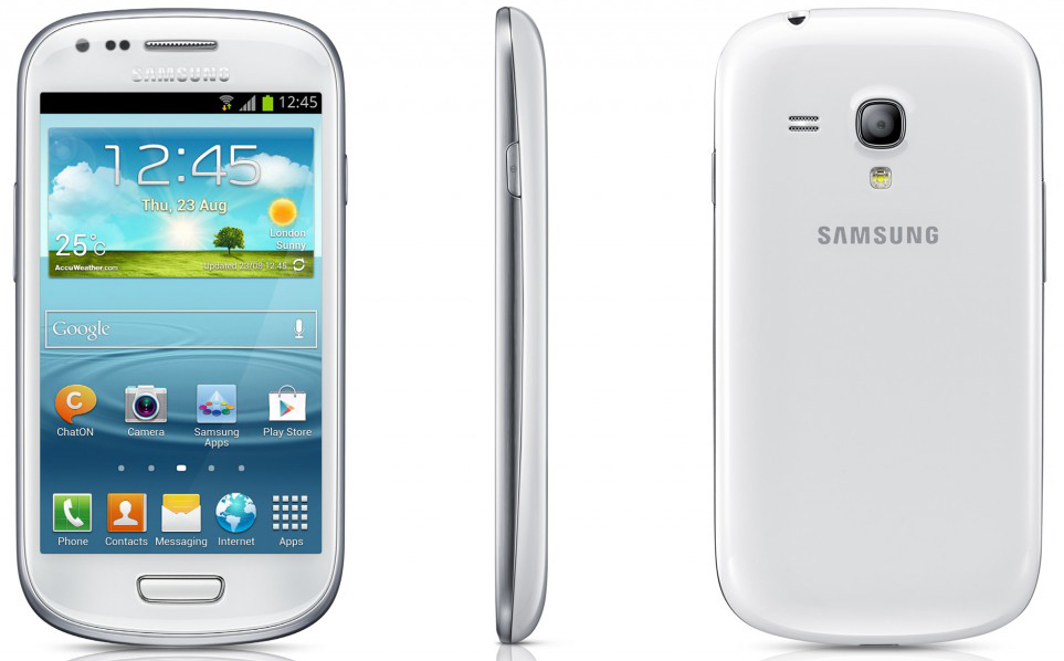samsung galaxy s3 mini gt i8200n white android smart phone. Black Bedroom Furniture Sets. Home Design Ideas