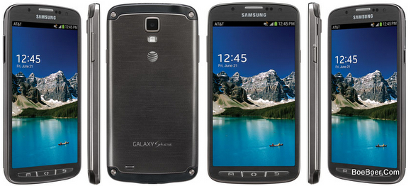 Samsung Galaxy S4 Active 16gb Sgh I537 Rugged Android Smartphone Unlocked Gsm Gray