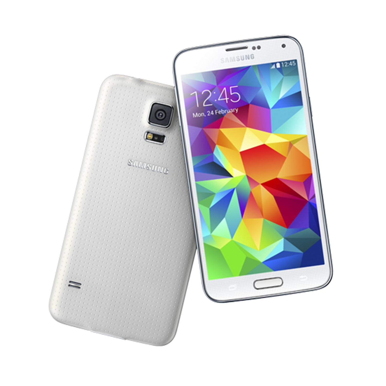 samsung galaxy s5 16gb g900 android smartphone unlocked gsm white mint condition used. Black Bedroom Furniture Sets. Home Design Ideas
