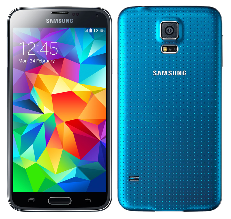 Samsung Galaxy S5 16gb Sm G900 Android Smartphone Unlocked Gsm Blue P ...