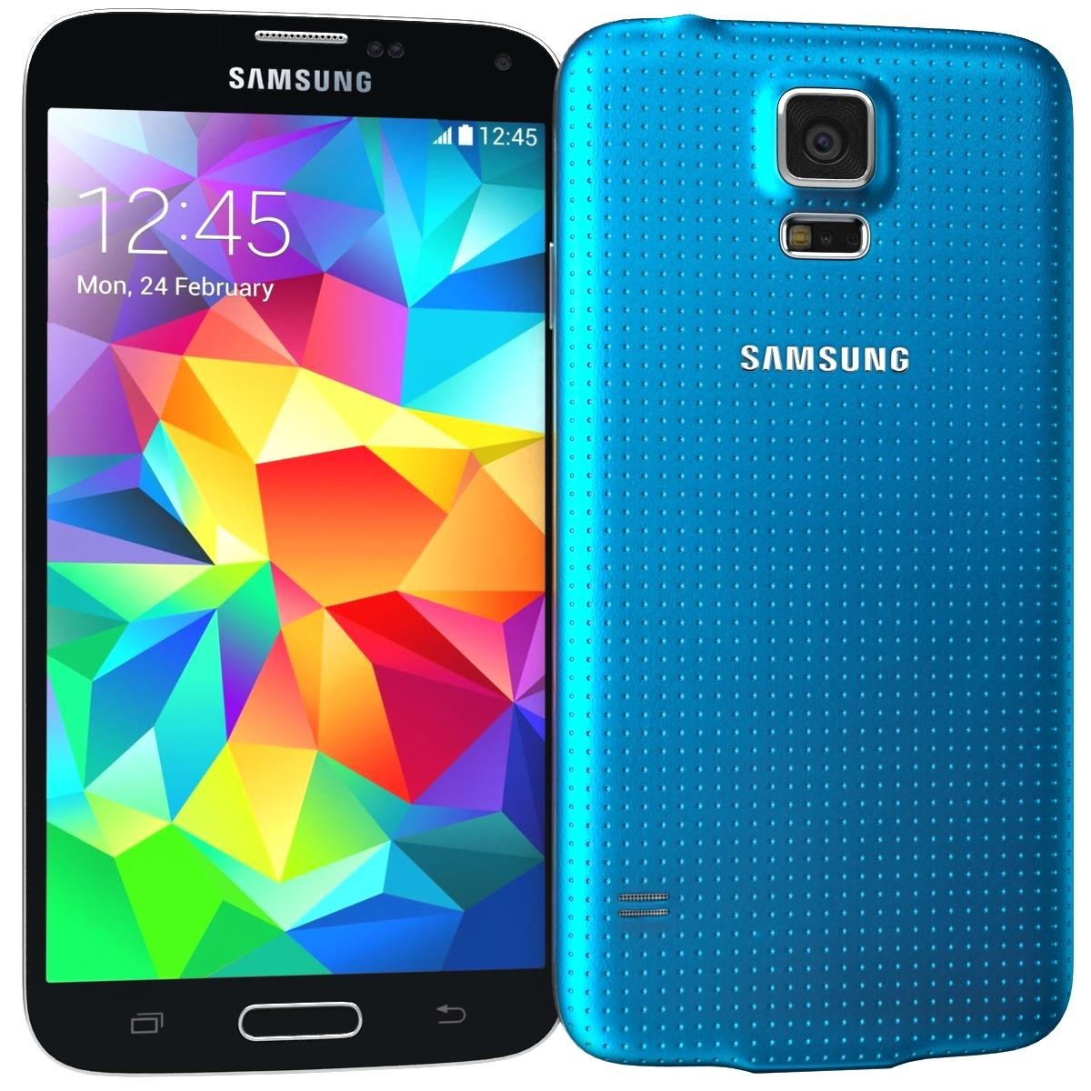 samsung galaxy s5 16gb sm g900 android smartphone unlocked gsm blue mint condition used. Black Bedroom Furniture Sets. Home Design Ideas