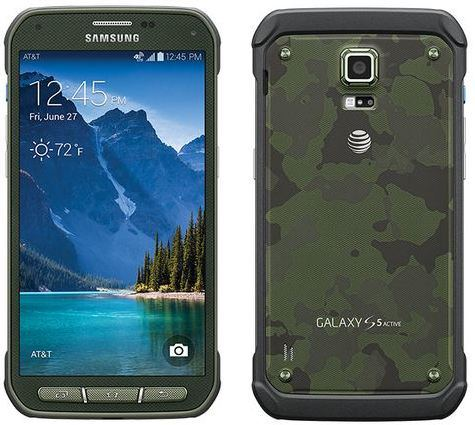Samsung Galaxy S5 Active 16GB Rugged Waterproof Camouflage Android Phone Unlocked GSM