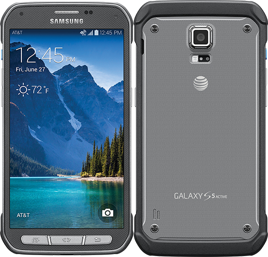 Samsung Galaxy S5 Active 16GB SM-G870a Waterproof Android Smartphone - Unlocked GSM - Gray