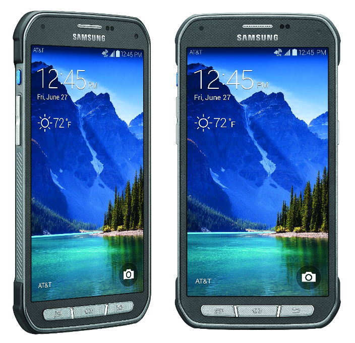 Samsung Galaxy S5 Active 4G LTE Phone for ATT Wireless in Gray