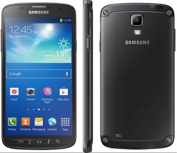 Samsung Galaxy S5 Active G870a in Black 4G Rugged ...