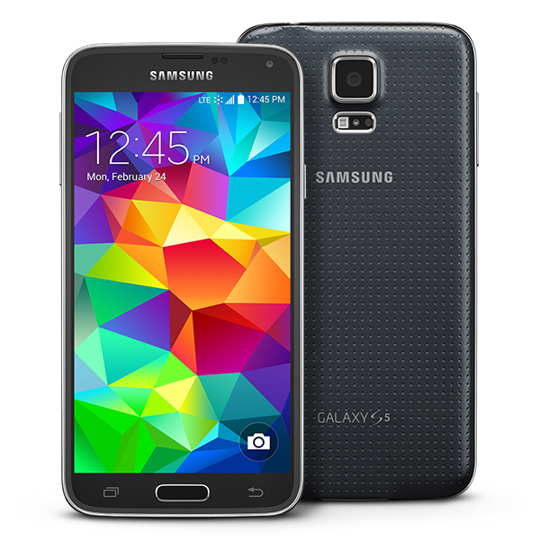 Samsung Galaxy S5 G900AZ 4G LTE WiFi Android Phone Cricket GSM Charcoal Black