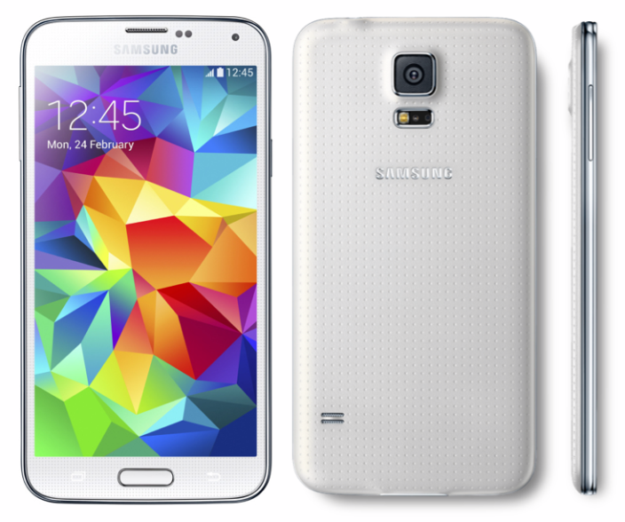 Samsung Galaxy S5 G900T White 4G LTE Android Phone ...
