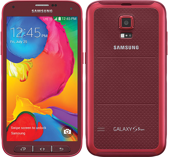 reputable site 6bd47 25b5e Samsung Galaxy S5 Sport 16GB SM-G860 Waterproof Android Smartphone for Ting  - Red