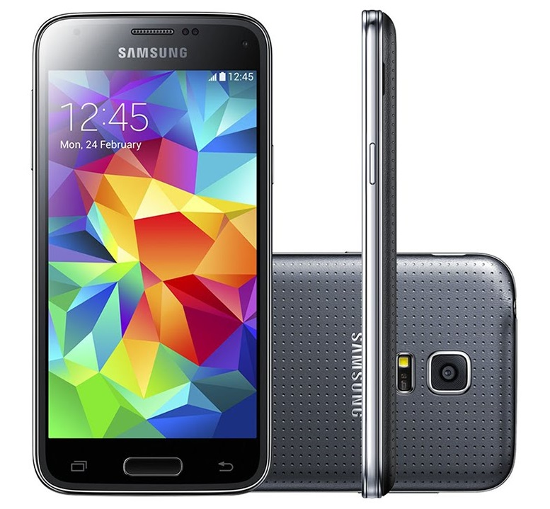 samsung galaxy s5 mini duos sm g800h 16gb 3g android phone charcoal black unlocked gsm with dual. Black Bedroom Furniture Sets. Home Design Ideas