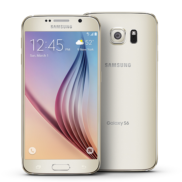 Samsung Galaxy S6 32GB 16MP Camera Super AMOLED Display 4G Sprint Android Phone in Gold Platinum