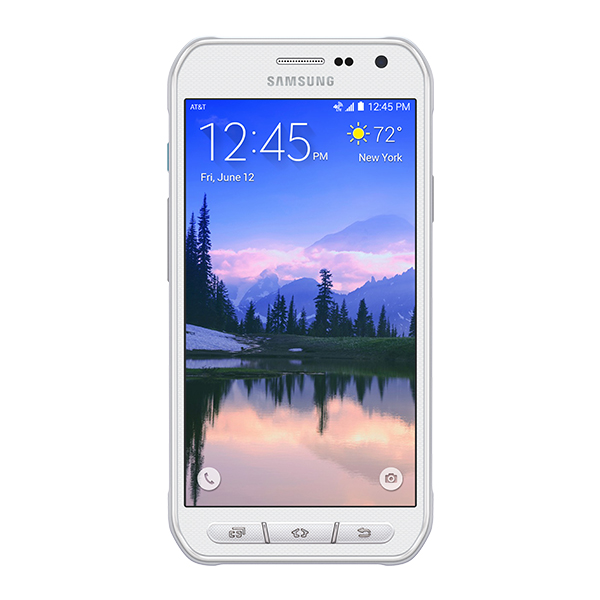 samsung galaxy s6 active 32gb sm g890a rugged android smartphone unlocked gsm white. Black Bedroom Furniture Sets. Home Design Ideas