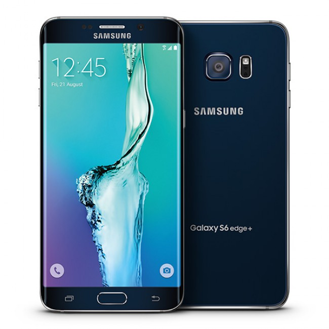 Samsung Galaxy S6 Edge Plus 32GB Android Smartphone - Unlocked GSM - Sapphire Black