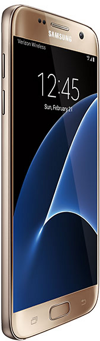 Samsung Galaxy S7 32GB SM-G930V Android Smartphone - Page Plus - Gold  Platinum Smartphone in Gold