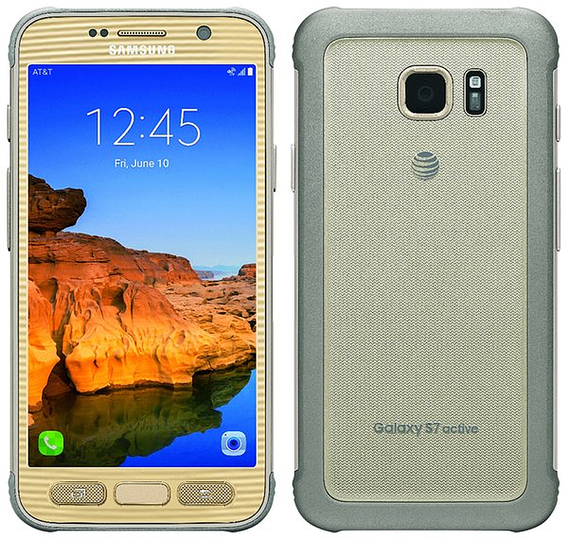 Samsung Galaxy S7 Active 32gb Sm G891a Android Smartphone Ting Gold