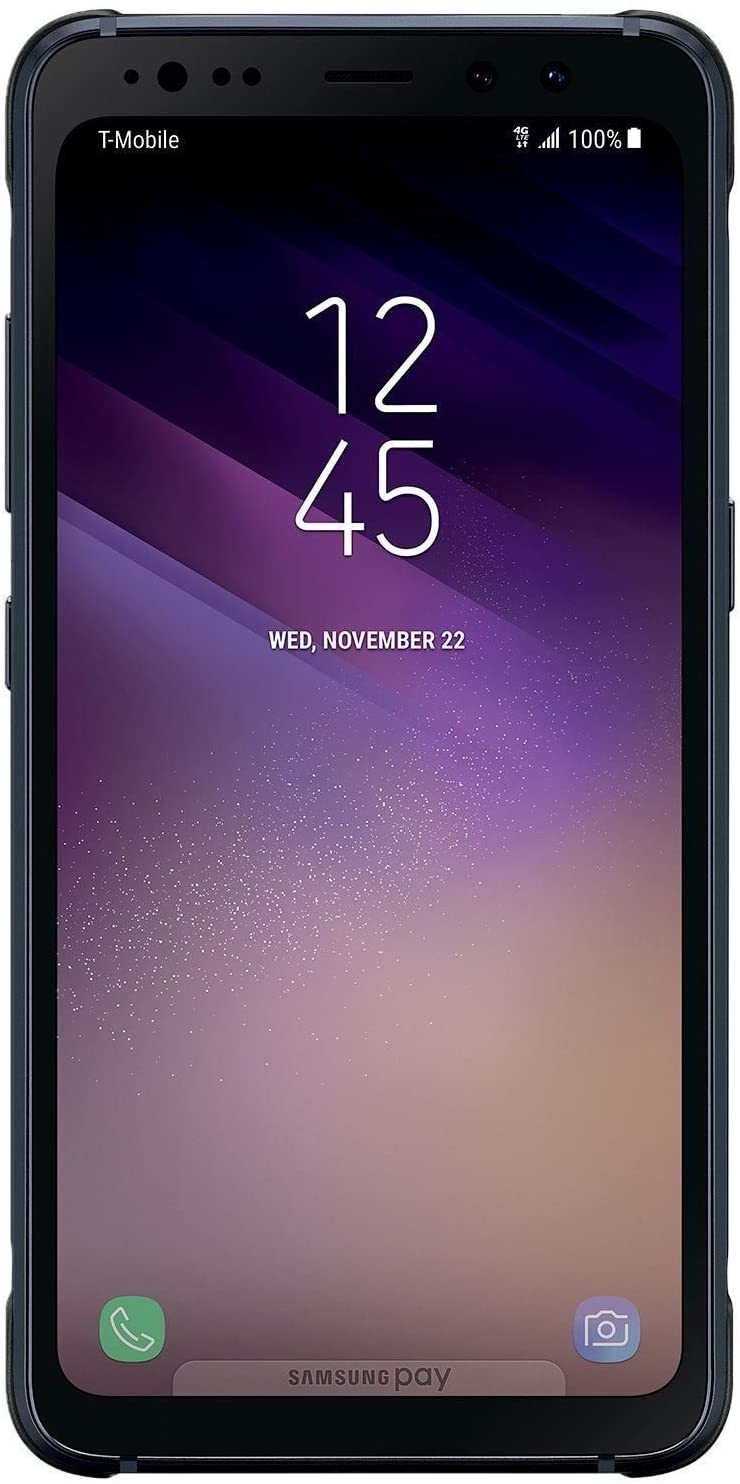 Samsung Galaxy S8 Active G892A 64GB Android Smartphone - Meteor Gray - Unlocked