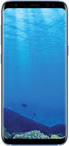 Samsung Galaxy S8 SM-G950U 64GB Android Smartphone - Cricket Wireless - Coral Blue