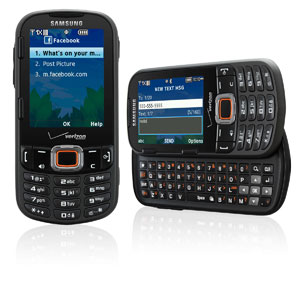 Overview. The Samsung Gusto 2 flip phone features a 2-inch main color display ( x pixels) and a 1-inch sub display on the external shell of the phone body.