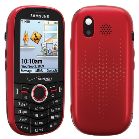 Samsung Intensity Sch U450pp Qwerty Messaging Phone For
