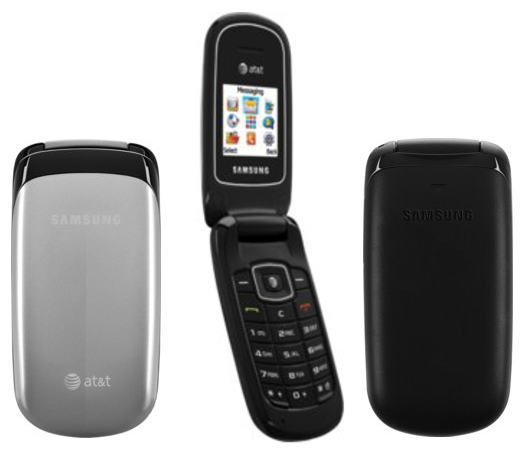 Samsung SGH-A107 Basic Color Flip Speaker Phone ATT