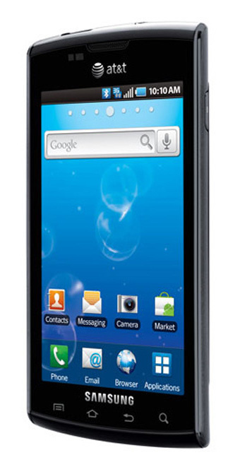 Samsung Captivate Bluetooth WiFi DLNA Android Phone Unlocked