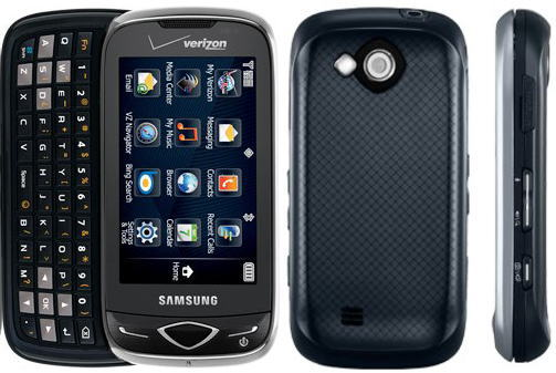 Samsung U820 Reality Bluetooth Music GPS Phone Verizon