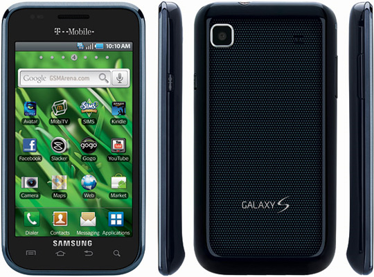 Samsung Vibrant Galaxy S WiFi 3G Cell Phone T Mobile