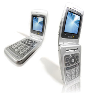 Sanyo Katana DLX Bluetooth MP3 Camera Phone for Sprint in Silvr