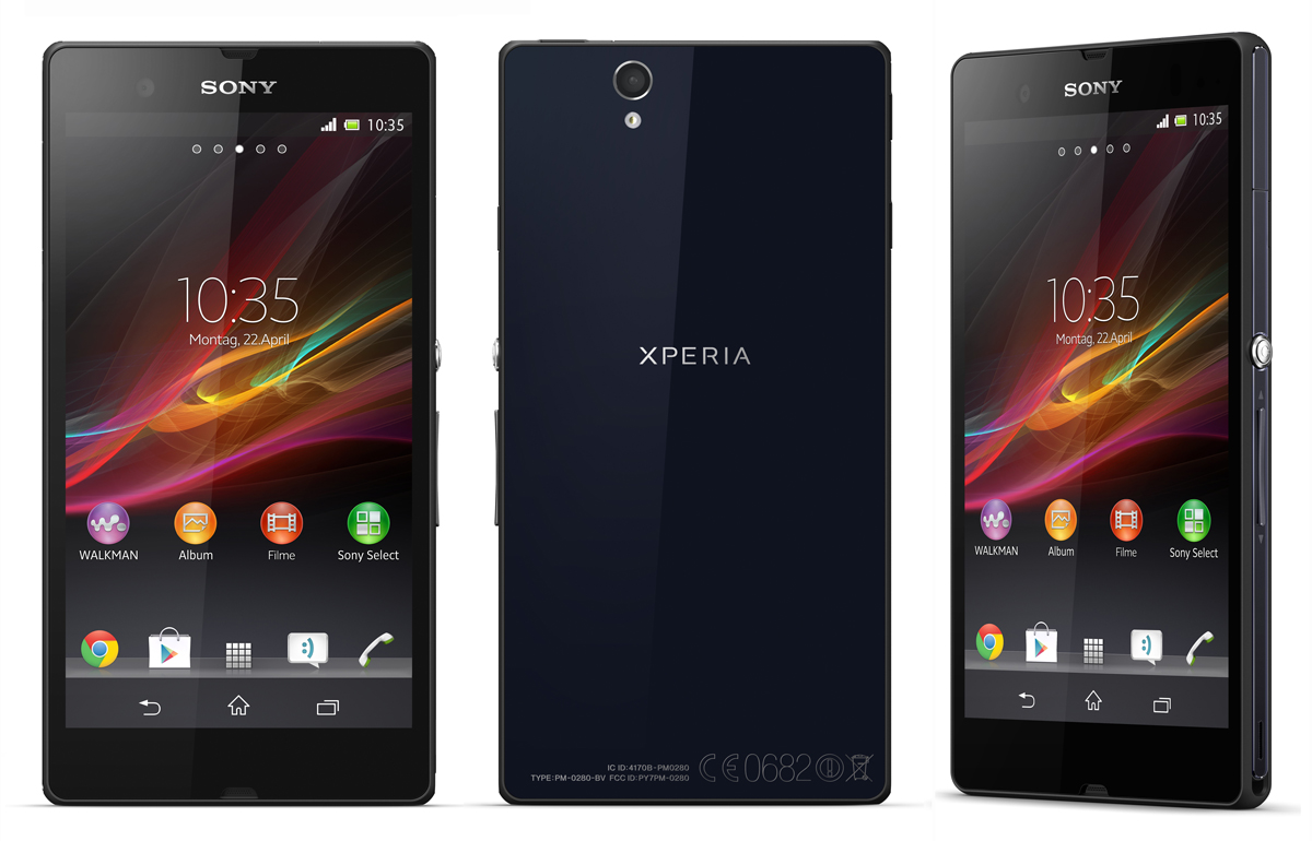 sony xperia z phone black android 4g lte phone tmobile. Black Bedroom Furniture Sets. Home Design Ideas