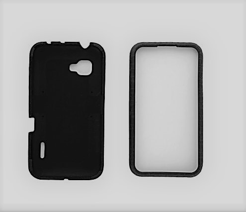 Muvit Fushion Case for Samsung Galaxy S4 Mini- White/Black