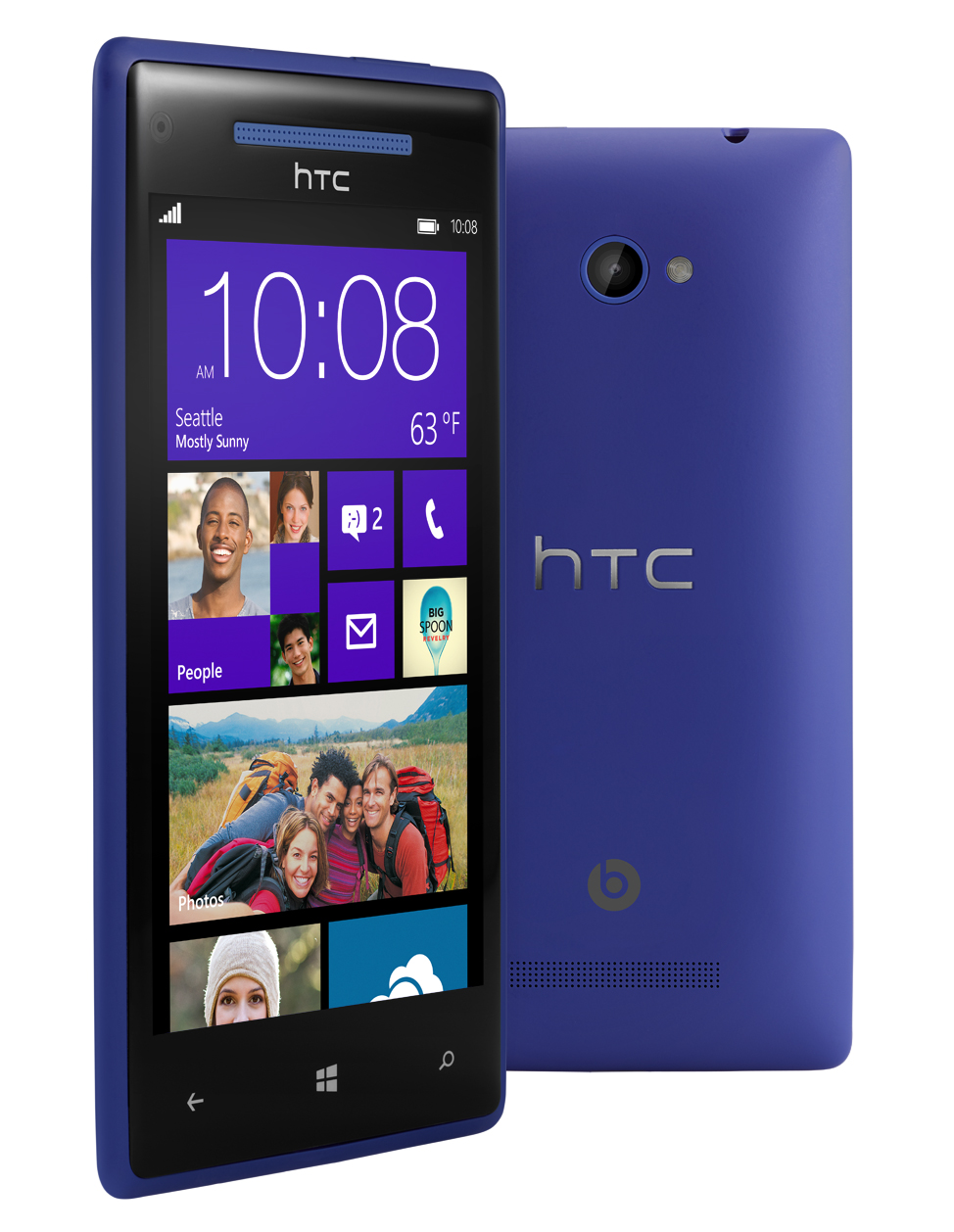 Windows phone 8x nfc wifi blue 4g lte phone verizon for Window 4g phone