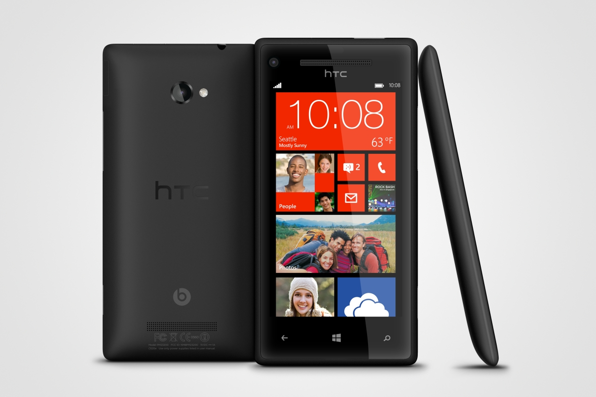 Windows Phone 8X NFC WiFi GPS Black 4G LTE Phone Verizon