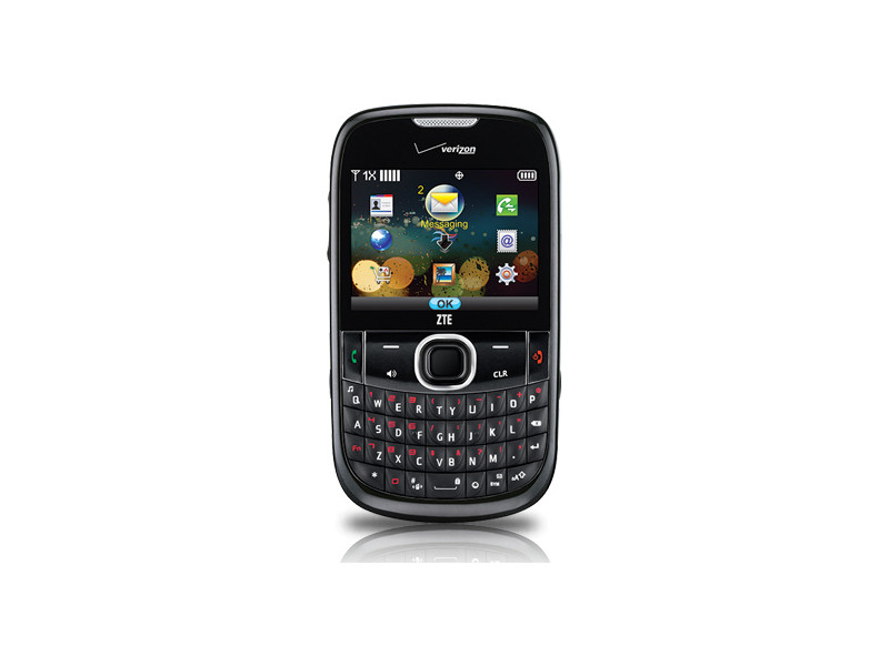 ZTE Adamant Basic Bluetooth Messaging Phone Verizon - Excellent Condition : Used Cell Phones