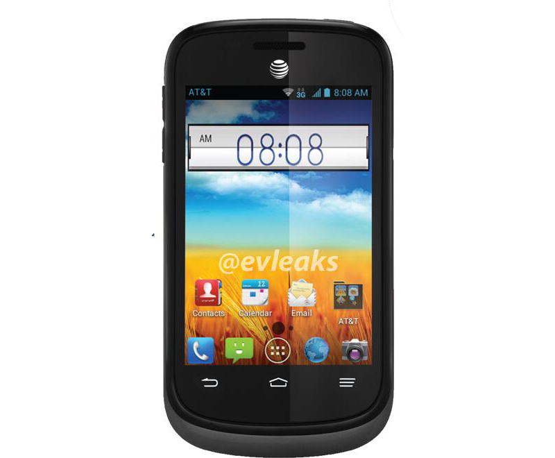Zte Avail 2 Bluetooth Gps Camera Android 3g Phone Att