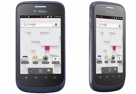 ZTE Concord Basic Android GPS WiFi Camera Phone TMobile ...