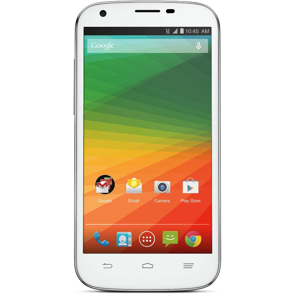 zte imperial 2 n9516 8gb android smartphone for u s cellular white fair condition used. Black Bedroom Furniture Sets. Home Design Ideas